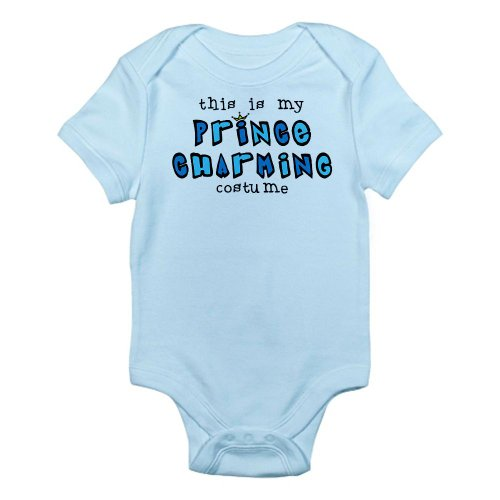CafePress Prince Charming Costume Infant Bodysuit - 18-24M Sky Blue