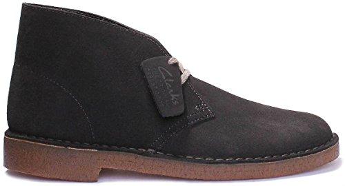 Boot Boots Suede 26129906 Desert 42 Dark Grau Clarks Grey dPEOwd