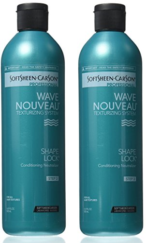 [ VALUE PACK OF 2] SOFTSHEEN CARSON WAVE NOUVEAU SHAPE LOCK Conditioning Neutralizer 16.9 ()