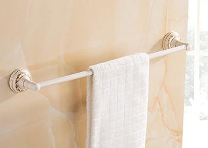 Europea ZAIG alta calidad toalla desechable bar de toallas de baño de aluminio del espacio Bastidores