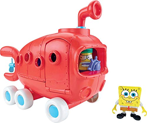 Spongebob Bikini Bottom - Fisher-Price Spongebob Squarepants Imaginext Exclusive Vehicle Bikini Bottom Bus
