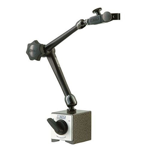 NOGA Dial Gage Holder Magnetic Base - Model: DG61003 AUTO POWER: On/off mag.base HOLDING POWER: 176 Ibs Regular Duty