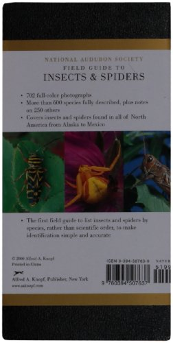 National Audubon Society Field Guide To Insects And