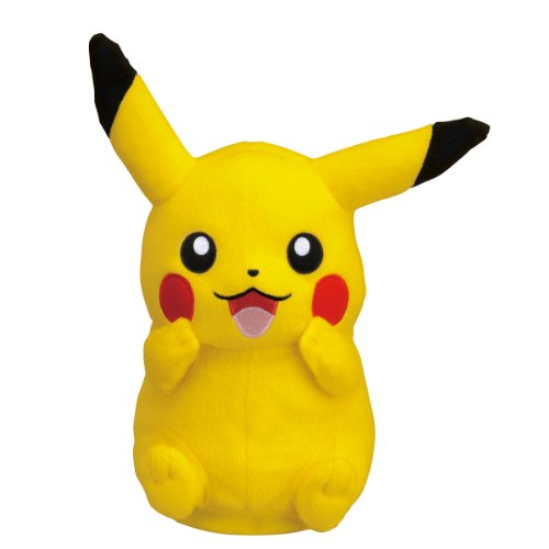 Pokemon Best Wishes Turning Talking Plush Takaratomy - Pikachu