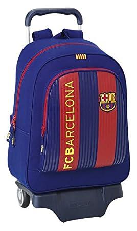 Safta Mochila F.C. Barcelona 1ª Equip. 16/17 Oficial Escolar Con Carro Safta 330x150x430mm: Amazon.es: Equipaje