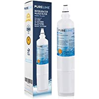LG LT600P Fast Flow Compatible Water Filter Replacement For LG LT600P, LG 5231JA2006A, 5231JA2006B Refrigerator Water Filter By Pure Line (1 PACK)