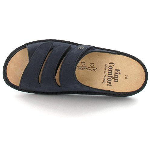 Finn ComfortKorfu - sandalias abiertas Unisex adulto Azul - azul marino