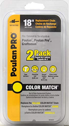 Poulan Pro 581562302 Pack of 2 Replacement Chains