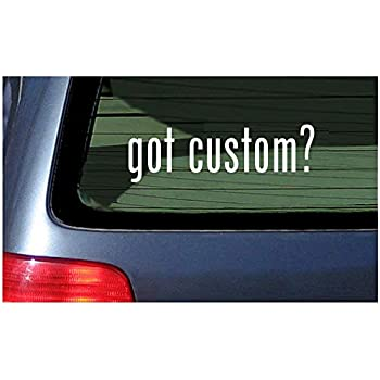 74d07229082 White Sticker Window Decal Vinyl Custom Personalized Customized Text  Lettering
