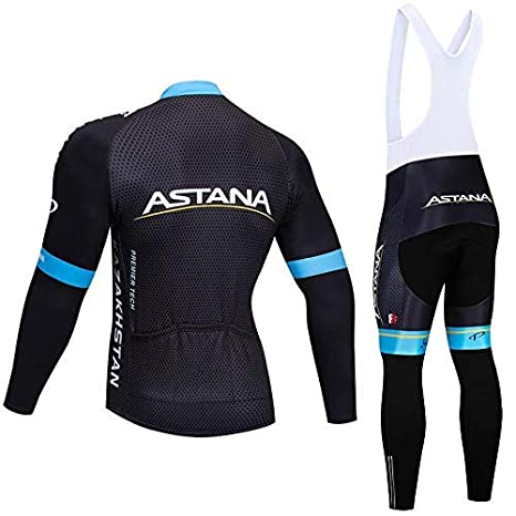 SUHINFE Ciclismo Maillot Hombres Jersey + Pantalones Culote Mangas ...