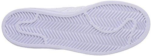 adidas Superstar Foundation, Zapatillas Unisex infantil Blanco (Ftwr White/Ftwr White/Ftwr White)