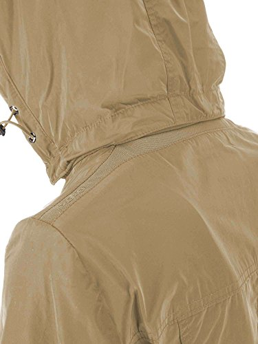 Geox Jacket Mujer Chaqueta para Woman Beige 77qP1xCaw