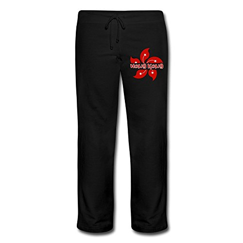 yesher-funny-womens-hong-kong-long-workout-pants-size-m