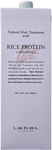 Revel Natural Hair Treatment with rice protein RP 1600ml (refill) Old Wheat protein WP by Lebel