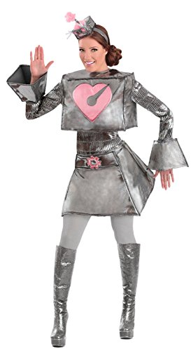 [Robot Woman Adult Costume - Small] (Female Robot Costumes)