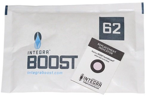 Integra Boost Humidiccant 62% RH Humidity 2 WAY Control in 67g (12) by Boost