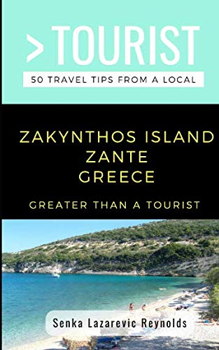 GREATER THAN A TOURIST-ZAKYNTHOS ISLAND ZANTE GREECE: for sale  Delivered anywhere in USA