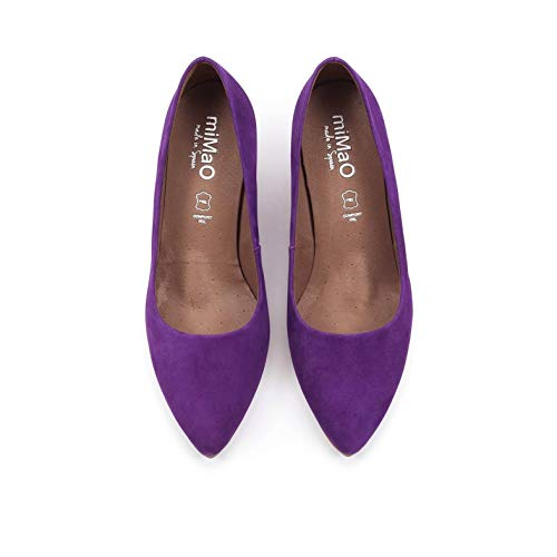 mimao Escarpins Violet pour Femme Violet P1FqPf
