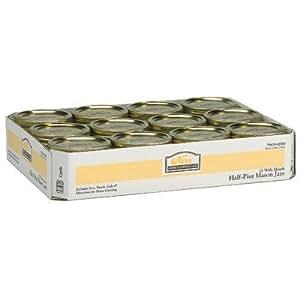 Kerr Mason Jars Half Pint ( 8 Oz ) Wide Mouth 12 / Box