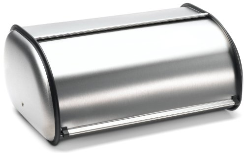 stainless steel 2 loaf bread box - 3