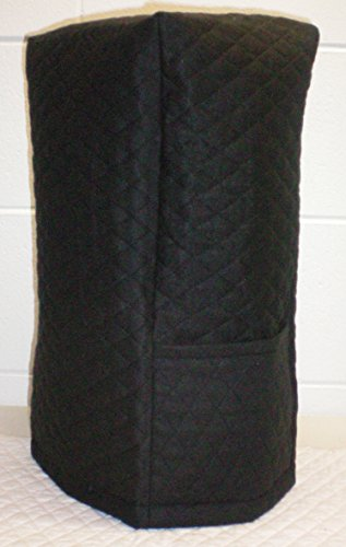 Quilted Blender Cover (Large, Black) - Quilted Blender Appliance Cover