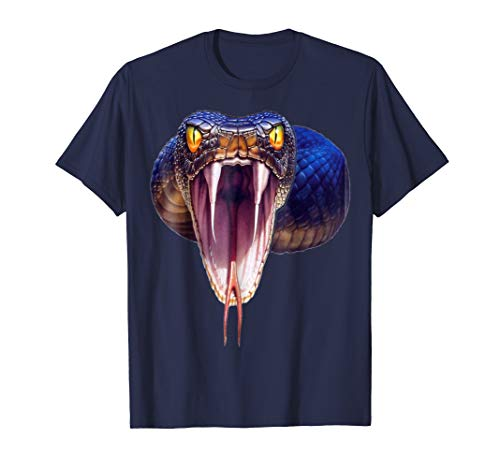 Scary Black Mamba Snake Halloween Costume Gift Shirt ()