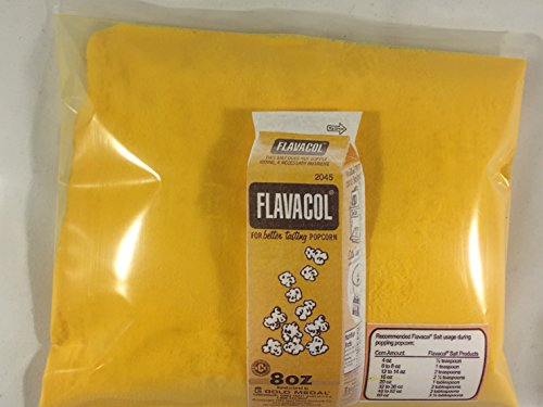 Fantastic Deal! Flavacol, Movie Theatre Butter Popcorn Salt, Family Size