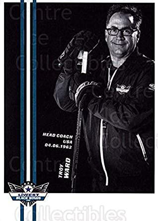 Amazon com: (CI) Troy Ward Hockey Card 2017-18 EBEL EHC