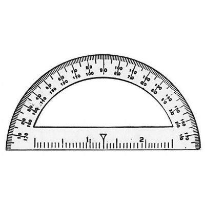 Amazon Com 3 5 Mini Protractor Office Products