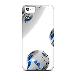 New QLY1928yWbX Spherical White 3d Skin Cases Covers Shatterproof Cases For Iphone 5c Black Friday