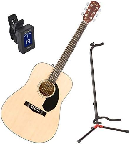 Fender 0961701021 cd-60s parte superior sólida Natural Guitarra ...