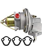 Mechanical Fuel Pump Fits for MerCruiser Mercury Marin MC120 MC165 MC170 MC180 MC190 MC470-1 MC488 Engine Penta 2.5L 3.0LX 3.0L 3.7L 3.7-LX 1995-2001, 3854858 42725A3 9-35422 509407 18-7282