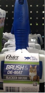 Oster Brush and De Mat Slicker Brush for Cats, My Pet Supplies