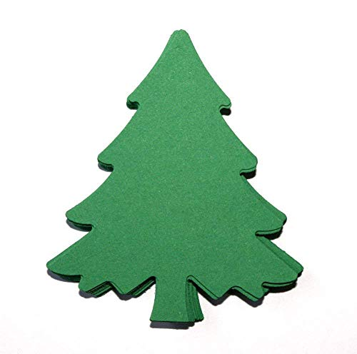 Christmas Tree Die Cuts (25 Count) from Crafts & Confetti