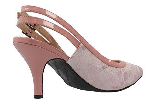 Andres Machado - Zapatos de vestir de Material Sintético para mujer rosa Rosa