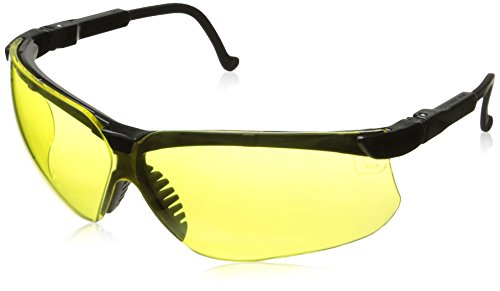 Howard Leight by Honeywell Genesis Sharp-Shooter Anti-Glare Shooting Glasses, Amber Lens (R-03571)
