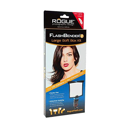 Rogue Photographic Design Rogue FlashBender 2 (Second Generation) - LARGE Soft Box Kit (Black/White) by Rogue Photographic Design (Image #4)