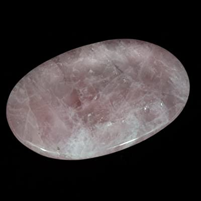 Rose Quartz Palm Stone