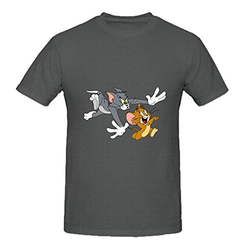 KARLEE Tom and Jerry Show Logo Design Round Neck Men's T-shirt -