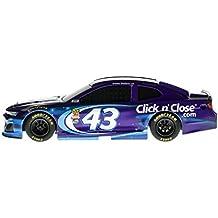 Lionel Racing Nascar Authentics Bubba Wallace # 43 Click N Close Diecast, Purple/Blue/White
