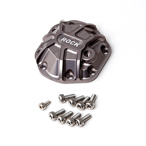 Gmade 30013 3D Machined Differential Cover for R1 Axle, Titanium -
