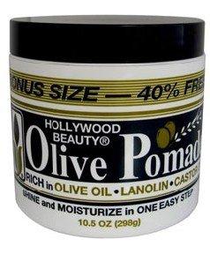 Hollywood Beauty Olive Pomade, 7.5 Ounce