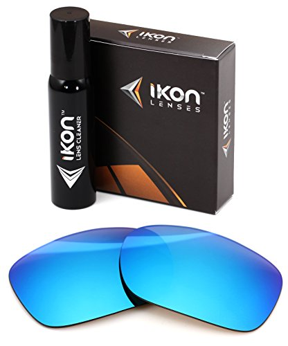 IKON LENSES Replacement for Oakley Twoface (OO9189) Sunglasses - Ice Blue Mirror (Non-Polarized)
