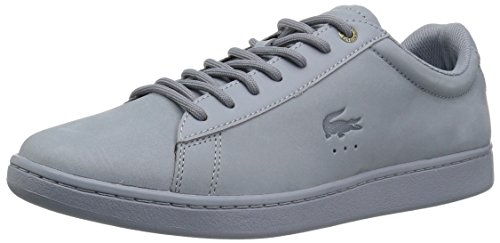 Lacoste Hommes Carnaby Evo Sneakers Bleu Clair Nubuck
