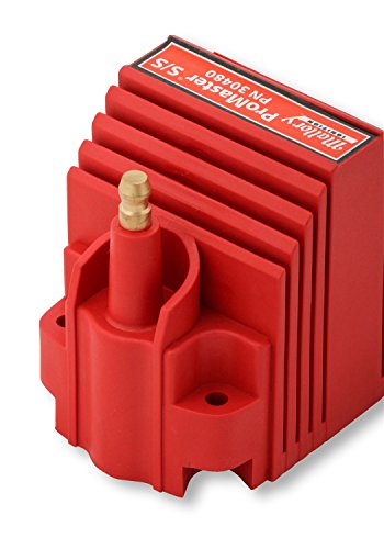 Mallory 30480 Promaster S/S Ignition Coil Fits w/HyFire/HyFire Pro CD Ignitions Brass Terminals Incl. 90 Degree Spark Plug Boot/Terminal/Vibration Mounts Max Voltage 40000 Promaster S/S Ignition Coil