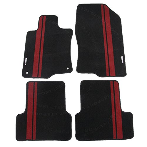 LT Sport Custom Fit 09-12 Acura TSX Stylish Nylon Floor Mats Carpet Acura Tsx Floor Mats