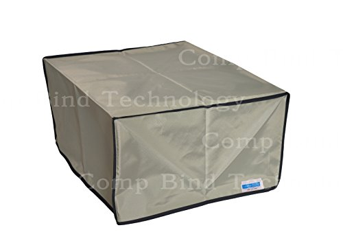 HP Latex 560 64'' IN Inkjet Printer Silver Nylon Anti-Static Dust Cover 101''W x 33''D x 54'H by Comp Bind Technology