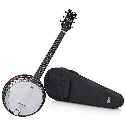 - Dean BW6 Backwoods 6 String Banjo with Hard Shell Case