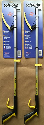 RMS RE-88004TP Soft-Grip Reacher Grabber with Orthopedic Handle, 32