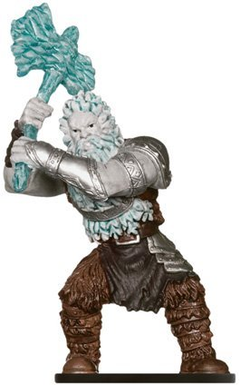 Frost Giant Monster Manual Dangerous Delves Dungeons & Dragons Miniatures Booster Pack by Wizards of the Coast